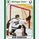 1990-91 Michigan State Collegiate Collection 200 #137 Bob Essensa - Michigan State Spartans