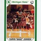 1990-91 Michigan State Collegiate Collection 200 #131 Magic Johnson - Michigan State Spartans