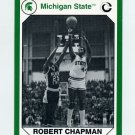 1990-91 Michigan State Collegiate Collection 200 #129 Robert Chapman - Michigan State Spartans