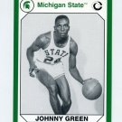 1990-91 Michigan State Collegiate Collection 200 #128 Johnny Green - Michigan State Spartans