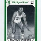 1990-91 Michigan State Collegiate Collection 200 #121 Marcus Sanders - Michigan State Spartans
