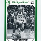 1990-91 Michigan State Collegiate Collection 200 #108 Vernon Carr - Michigan State Spartans