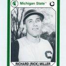 1990-91 Michigan State Collegiate Collection 200 #104 Rick Miller - Michigan State Spartans