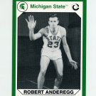 1990-91 Michigan State Collegiate Collection 200 #103 Robert Anderegg - Michigan State Spartans