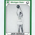 1990-91 Michigan State Collegiate Collection 200 #102 Jack Quiggle - Michigan State Spartans