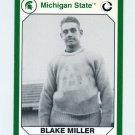 1990-91 Michigan State Collegiate Collection 200 #091 Blake Miller - Michigan State Spartans