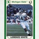 1990-91 Michigan State Collegiate Collection 200 #086 Lorenzo White - Michigan State Spartans