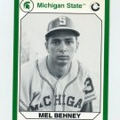 1990-91 Michigan State Collegiate Collection 200 #085 Mel Behney - Michigan State Spartans