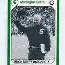 1990-91 Michigan State Collegiate Collection 200 #079 Hugh Daugherty - Michigan State Spartans