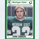 1990-91 Michigan State Collegiate Collection 200 #076 Kirk Gibson - Michigan State Spartans