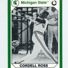 1990-91 Michigan State Collegiate Collection 200 #070 Cordell Ross - Michigan State Spartans