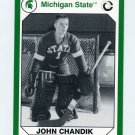 1990-91 Michigan State Collegiate Collection 200 #069 John Chandik - Michigan State Spartans