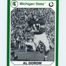 1990-91 Michigan State Collegiate Collection 200 #061 Al Dorow - Michigan State Spartans