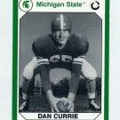 1990-91 Michigan State Collegiate Collection 200 #060 Dan Currie - Michigan State Spartans