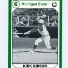 1990-91 Michigan State Collegiate Collection 200 #053 Kirk Gibson - Michigan State Spartans