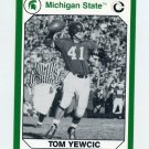 1990-91 Michigan State Collegiate Collection 200 #048 Tom Yewcic - Michigan State Spartans