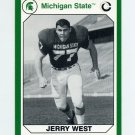 1990-91 Michigan State Collegiate Collection 200 #046 Jerry West -Michigan State Spartans