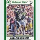 1990-91 Michigan State Collegiate Collection 200 #042 Harlon Barnett - Michigan State Spartans