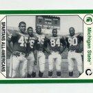 1990-91 Michigan State Collegiate Collection #038 Spartans All-Americans - Michigan State Spartans