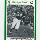 1990-91 Michigan State Collegiate Collection 200 #037 Everett Grandelius - Michigan State Spartans