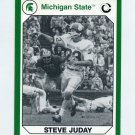 1990-91 Michigan State Collegiate Collection 200 #036 Steve Juday - Michigan State Spartans