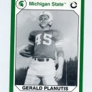 1990-91 Michigan State Collegiate Collection 200 #035 Gerald Planutis - Michigan State Spartans