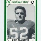 1990-91 Michigan State Collegiate Collection 200 #034 Dick Tamburo - Michigan State Spartans