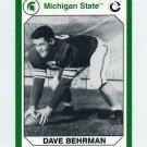 1990-91 Michigan State Collegiate Collection 200 #028 Dave Behrman - Michigan State Spartans