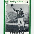 1990-91 Michigan State Collegiate Collection 200 #020 Dorne Dibble - Michigan State Spartans