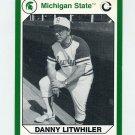 1990-91 Michigan State Collegiate Collection 200 #017 Danny Litwhiler - Michigan State Spartans