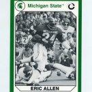 1990-91 Michigan State Collegiate Collection 200 #014 Eric Allen - Michigan State Spartans