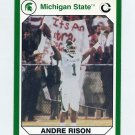 1990-91 Michigan State Collegiate Collection 200 #012 Andre Rison - Michigan State Spartans