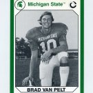 1990-91 Michigan State Collegiate Collection 200 #011 Brad Van Pelt - Michigan State Spartans