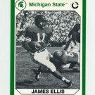 1990-91 Michigan State Collegiate Collection 200 #010 James Ellis - Michigan State Spartans