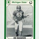 1990-91 Michigan State Collegiate Collection 200 #006 Ed Bagdon - Michigan State Spartans