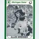 1990-91 Michigan State Collegiate Collection 200 #003 Allen Brenner - Michigan State Spartans
