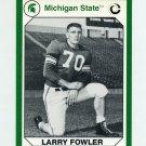 1990-91 Michigan State Collegiate Collection 200 #002 Larry Fowler - Michigan State Spartans