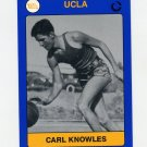 1991 UCLA Collegiate Collection #123 Carl Knowles - UCLA Bruins