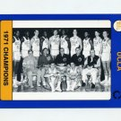 1991 UCLA Collegiate Collection #117 1971 Team Photo - UCLA Bruins