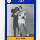 1991 UCLA Collegiate Collection #097 Dick West - UCLA Bruins
