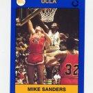 1991 UCLA Collegiate Collection #094 Mike Sanders - UCLA Bruins