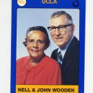 1991 UCLA Collegiate Collection #051 Wooden and Nell - UCLA Bruins