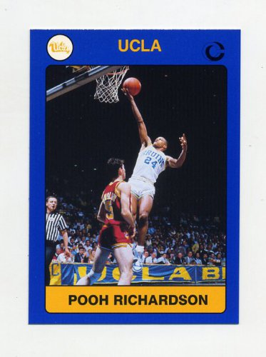 1991 UCLA Collegiate Collection #024 Pooh Richardson - UCLA Bruins