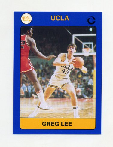 1991 UCLA Collegiate Collection #019 Greg Lee - UCLA Bruins