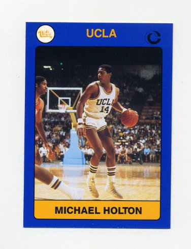 1991 UCLA Collegiate Collection #018 Michael Holton - UCLA Bruins