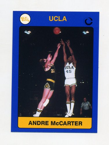 1991 UCLA Collegiate Collection #017 Andre McCarter - UCLA Bruins
