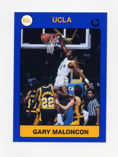 1991 UCLA Collegiate Collection #012 Gary Maloncon - UCLA Bruins