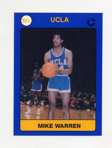 1991 UCLA Collegiate Collection #011 Mike Warren - UCLA Bruins