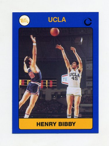 1991 UCLA Collegiate Collection #007 Henry Bibby - UCLA Bruins