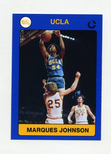 1991 UCLA Collegiate Collection #005 Marques Johnson - UCLA Bruins